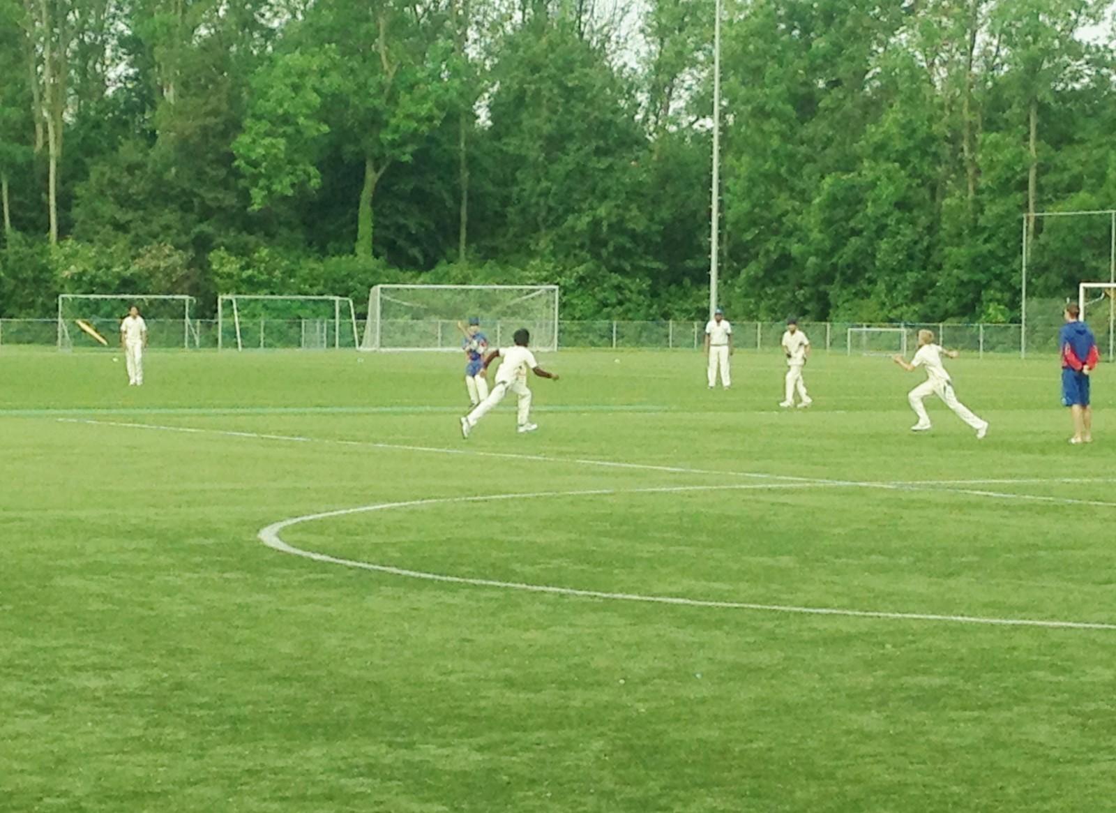 U14 dankzij sterk spel langs Kampong