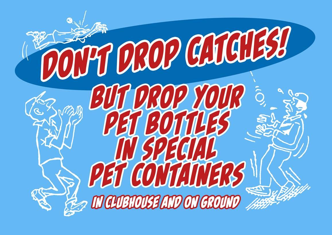 Help VCC met het recyclen van PET-flessen.