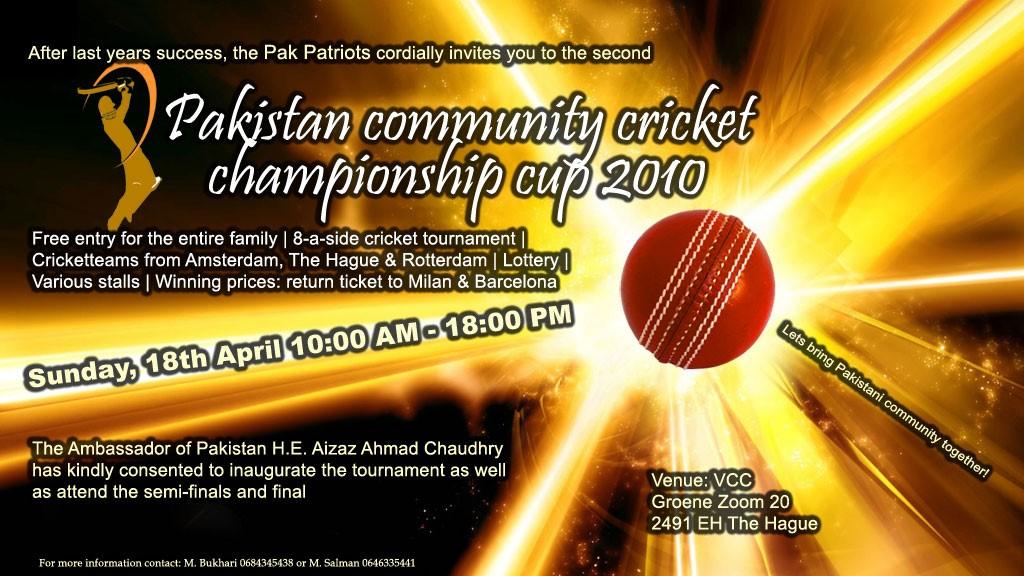 2nd Pakistan Championship Cup - Zondag 18 April 2010