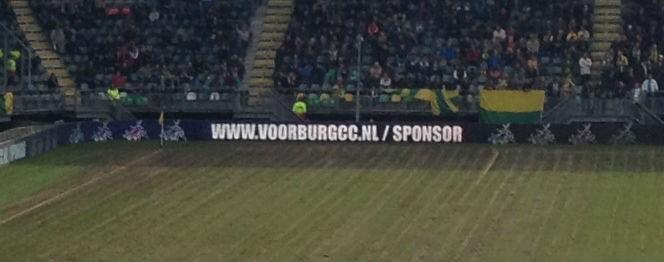 Sponsor net als [Catch of the Day / Sande Druk] Voorburg Cricket Club. Ga naar www.voorburgcc.nl/sponsor